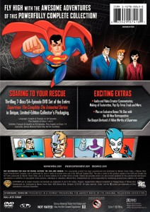 Superman: The Animated Series Back Cover