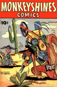 Monkeyshines Comics #4