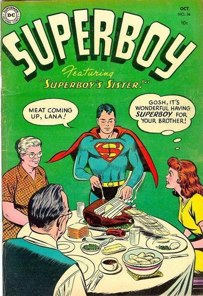 Superboy #36 (October 1954)