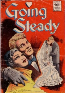 Going Steady #14 (Matt Baker Cover & Art)