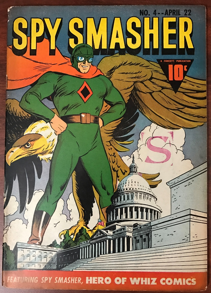 GAC Featured Golden Age Cover–Spy Smasher #4 (1942)