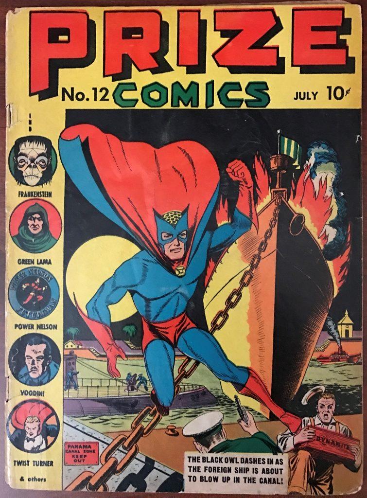 Prize Comics #12 (1941)