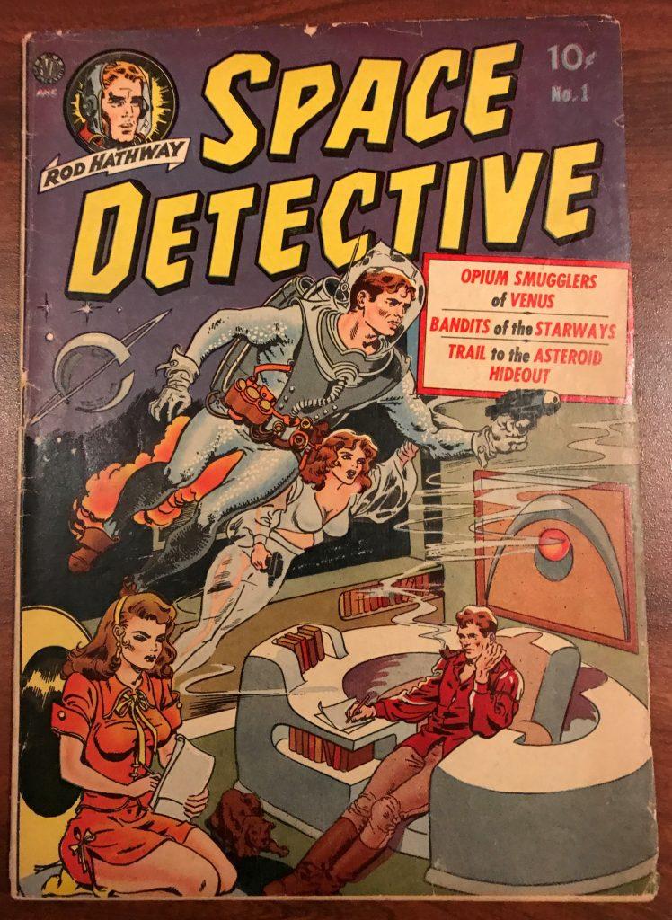 Rod Hathway - Space Detective #1