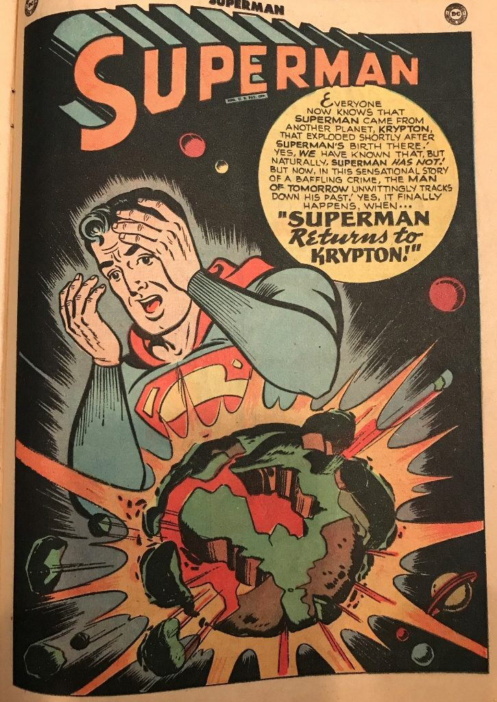 """Superman Returns to Krypton!"""
