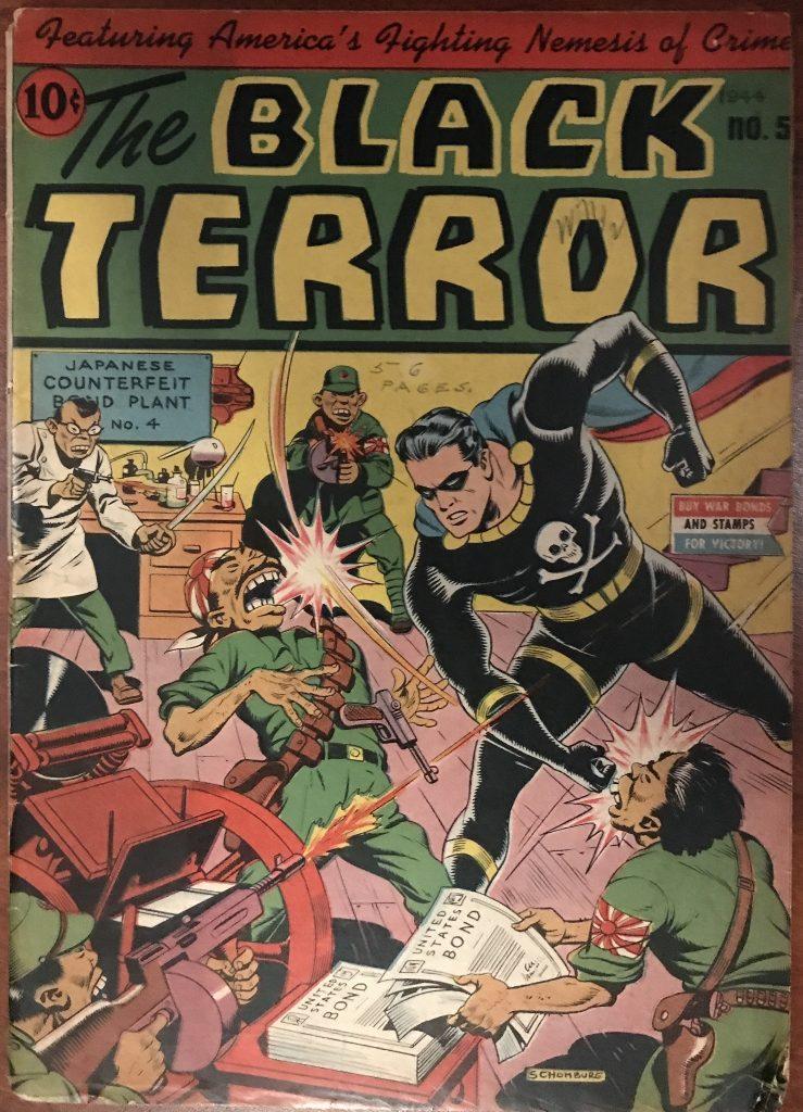 Black Terror #5 (1944)