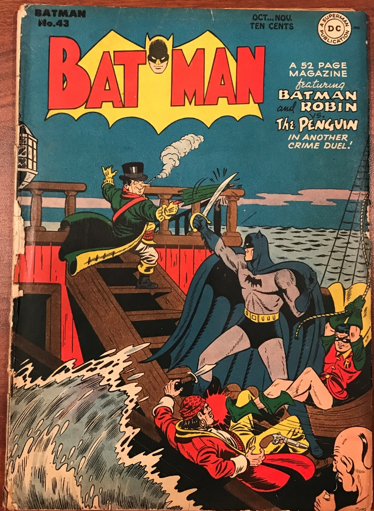 GAC Featured Golden Age Cover – Batman #43