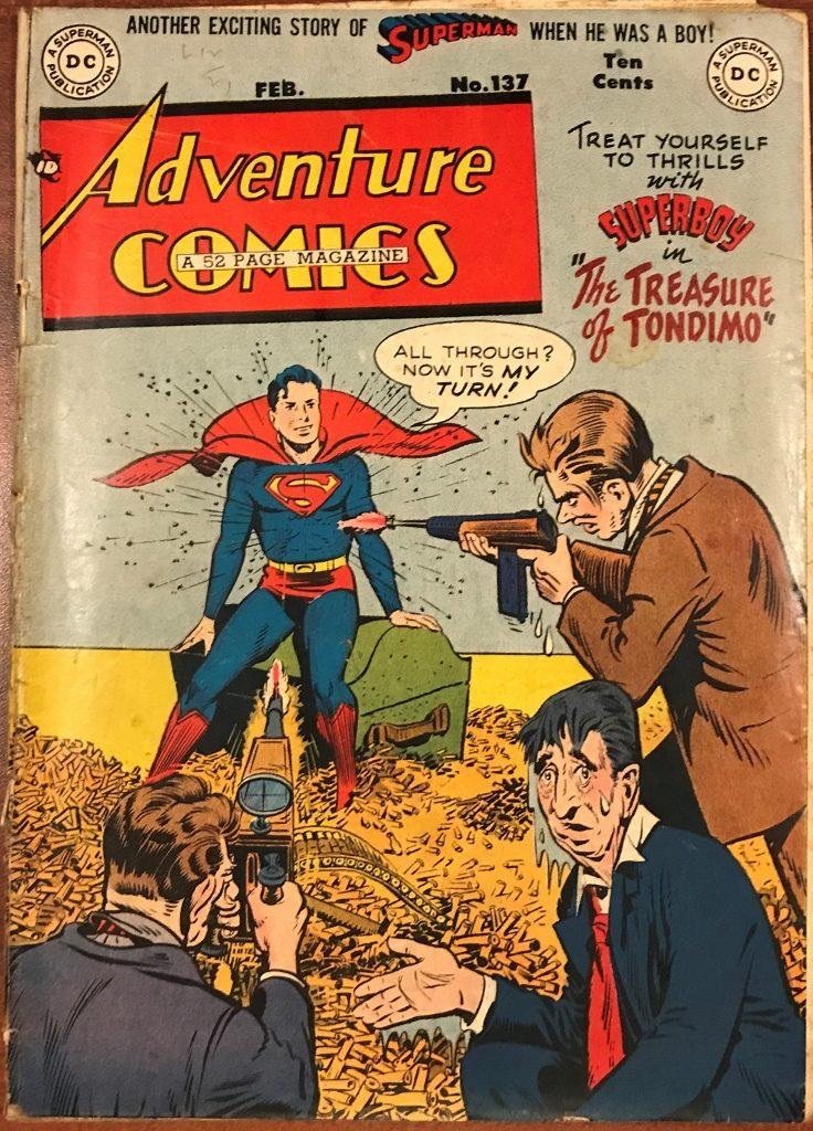 Adventure Comics #137 (Feb. 1949)