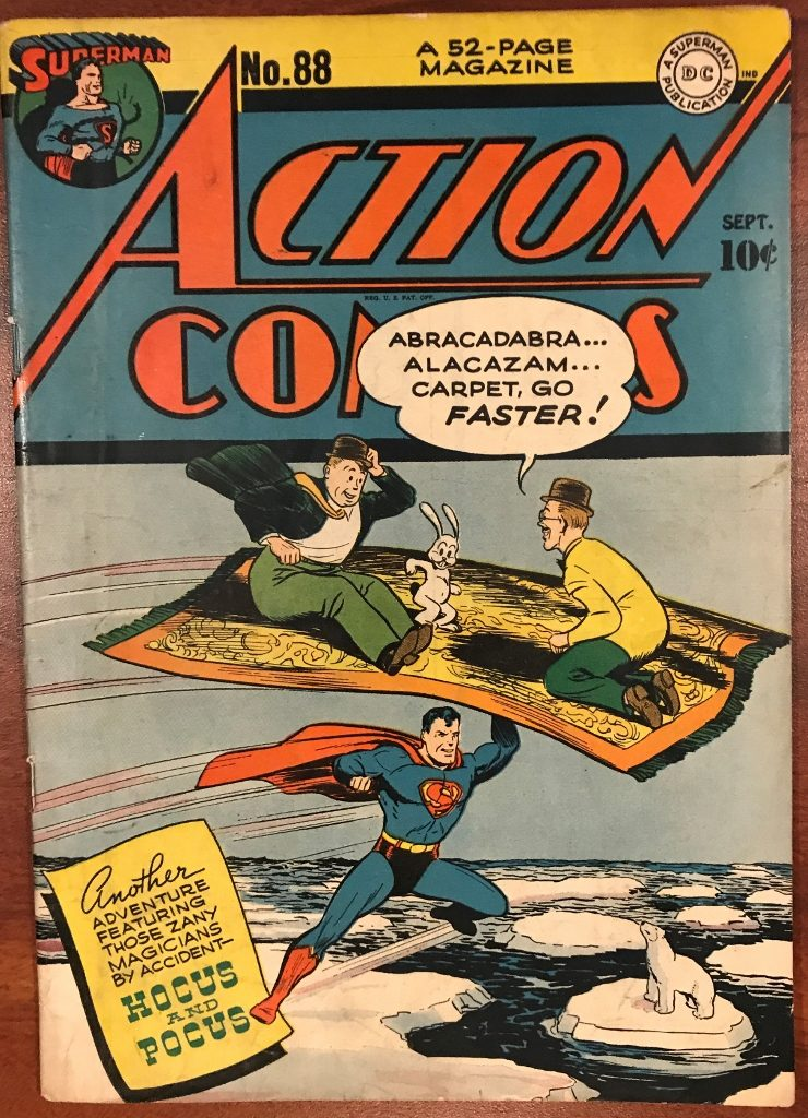 Action Comics #88 (Sept. 1945)