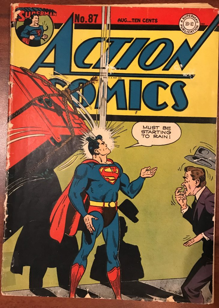 Action Comics #87 (Aug. 1945)