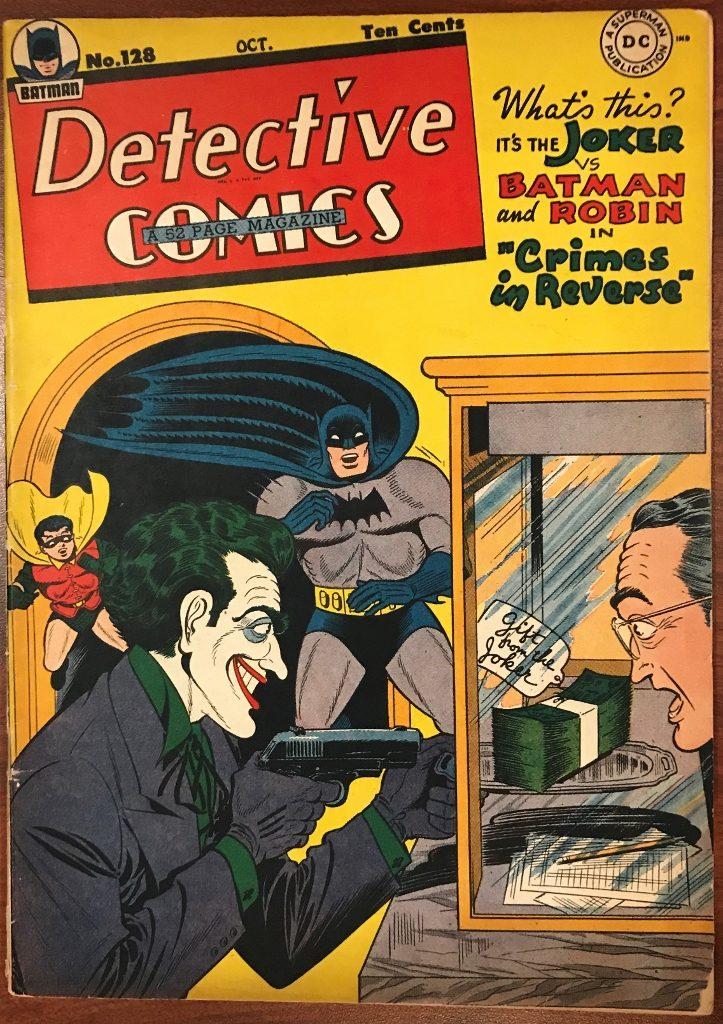 Detective Comics #128 (Oct. 1947)