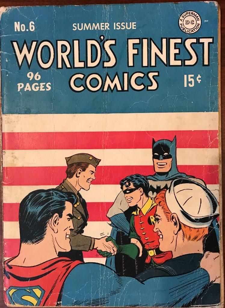 World's Finest Comics #6 (Summer 1942)