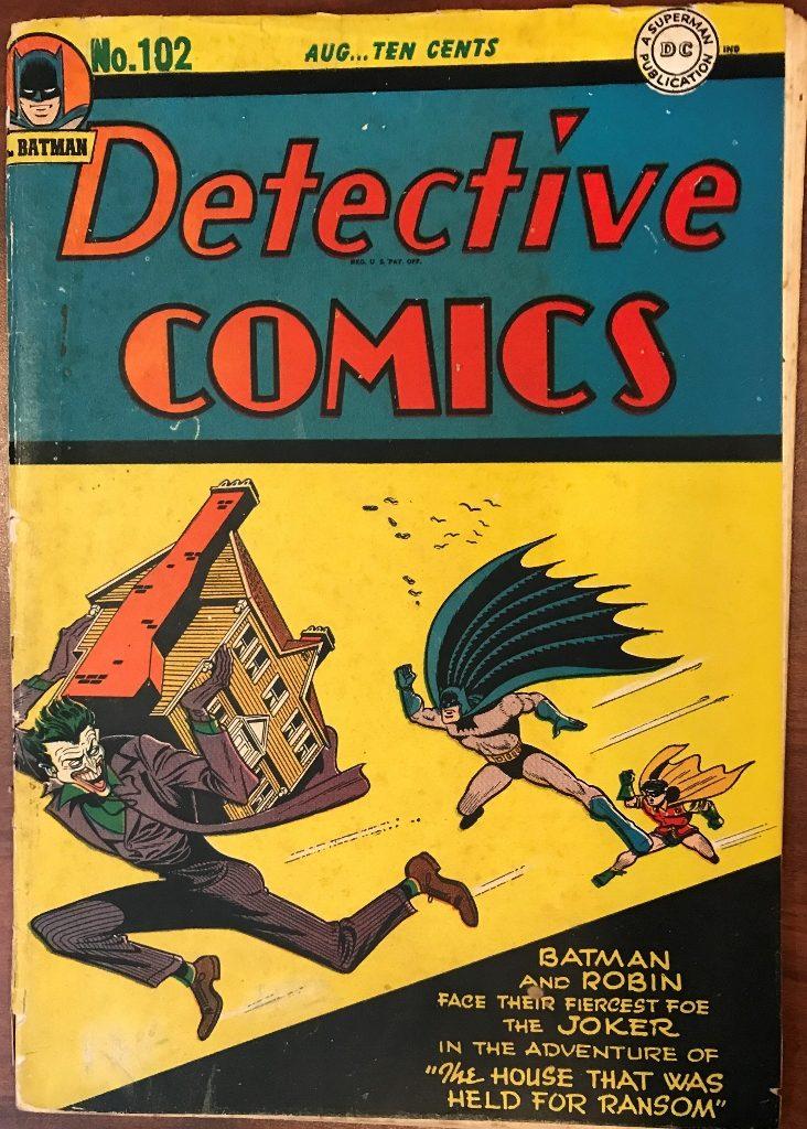 Detective Comics #102 (August 1945)