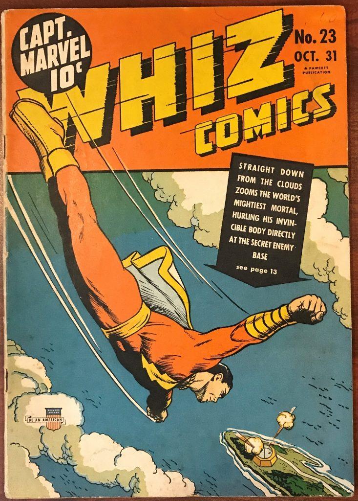 Whiz Comics #23 (Oct. 1941)