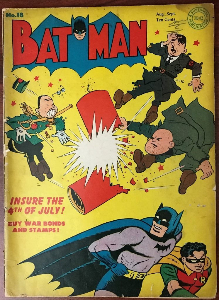 Batman #18 (Aug.-Sep. 1943)