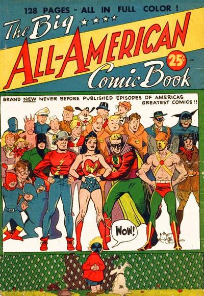 Big All-American Comic Book (December 1944)