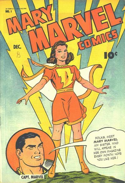 Mary Marvel #1