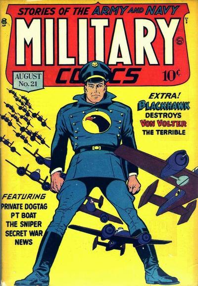 Military Comics #21