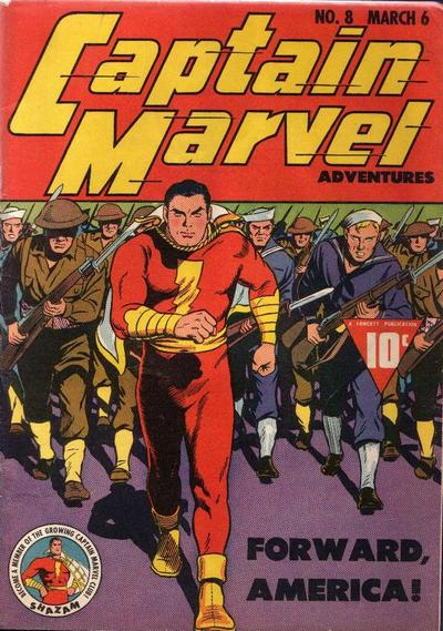 Captain Marvel Adventures #8