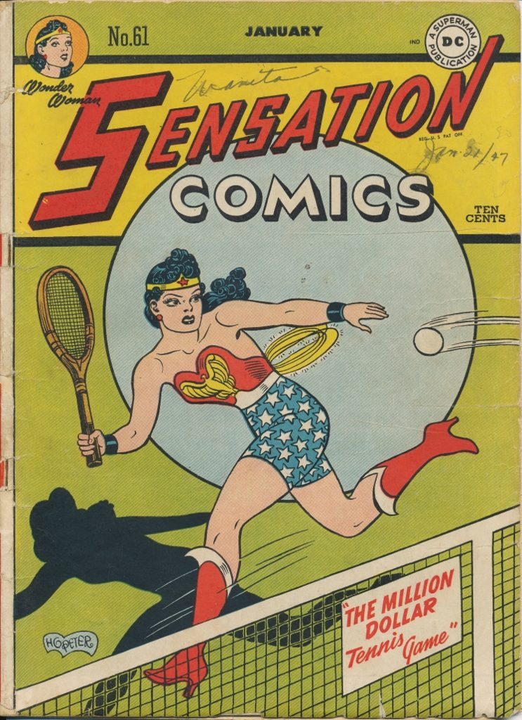 Sensation Comics #61 (Jan. 1947)