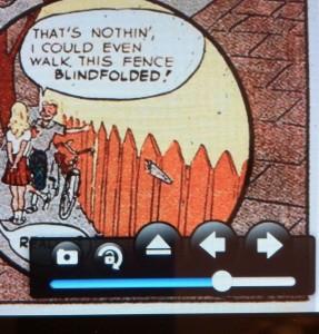 Comic Zeal Navigation Controls