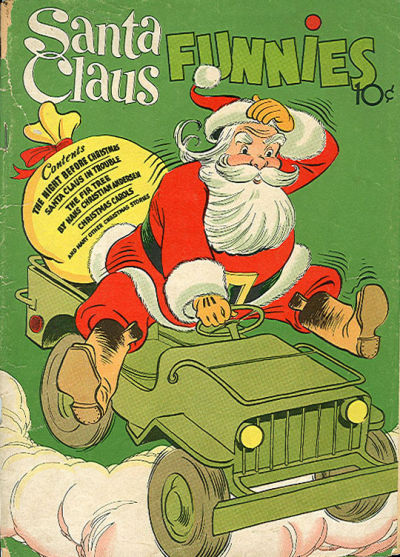 Santa Claus Funnies #1 (Dell 1942)