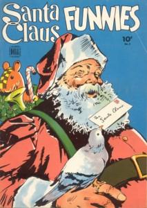 Santa Claus Funnies #2 (Dell 1943)