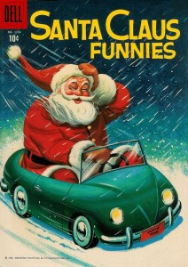 Santa Claus Funnies (Dell Four Color #1154, 1960)