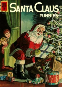 Santa Claus Funnies (Dell Four Color #1274, 1961)