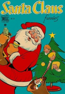 Santa Claus Funnies (Dell Four Color #254, 1949)