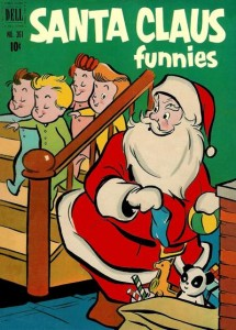 Santa Claus Funnies (Dell Four Color #361, 1951)