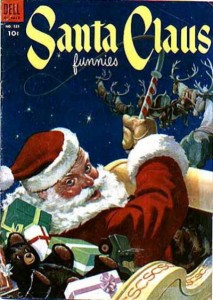 Santa Claus Funnies (Dell Four Color #525, 1953)