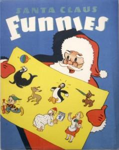 Santa Claus Funnies (Whitman, 1940)