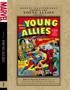 Golden Age Marvel Masterworks Young Allies, Vol. 1