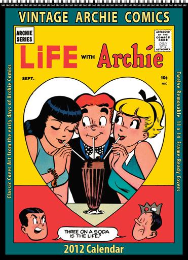 2012 Vintage Archie Comics Calendar
