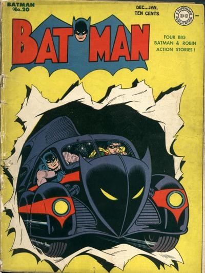 The Year Of The Bat Part 3 The Batmobile The Golden