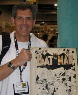Bill & The Original Cover Art to Batman #11