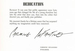 Infantino's Dedication