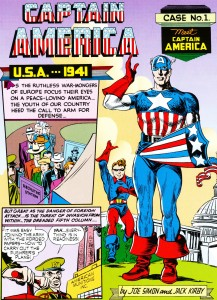 Meet Captain America - With Original Mask and Shield