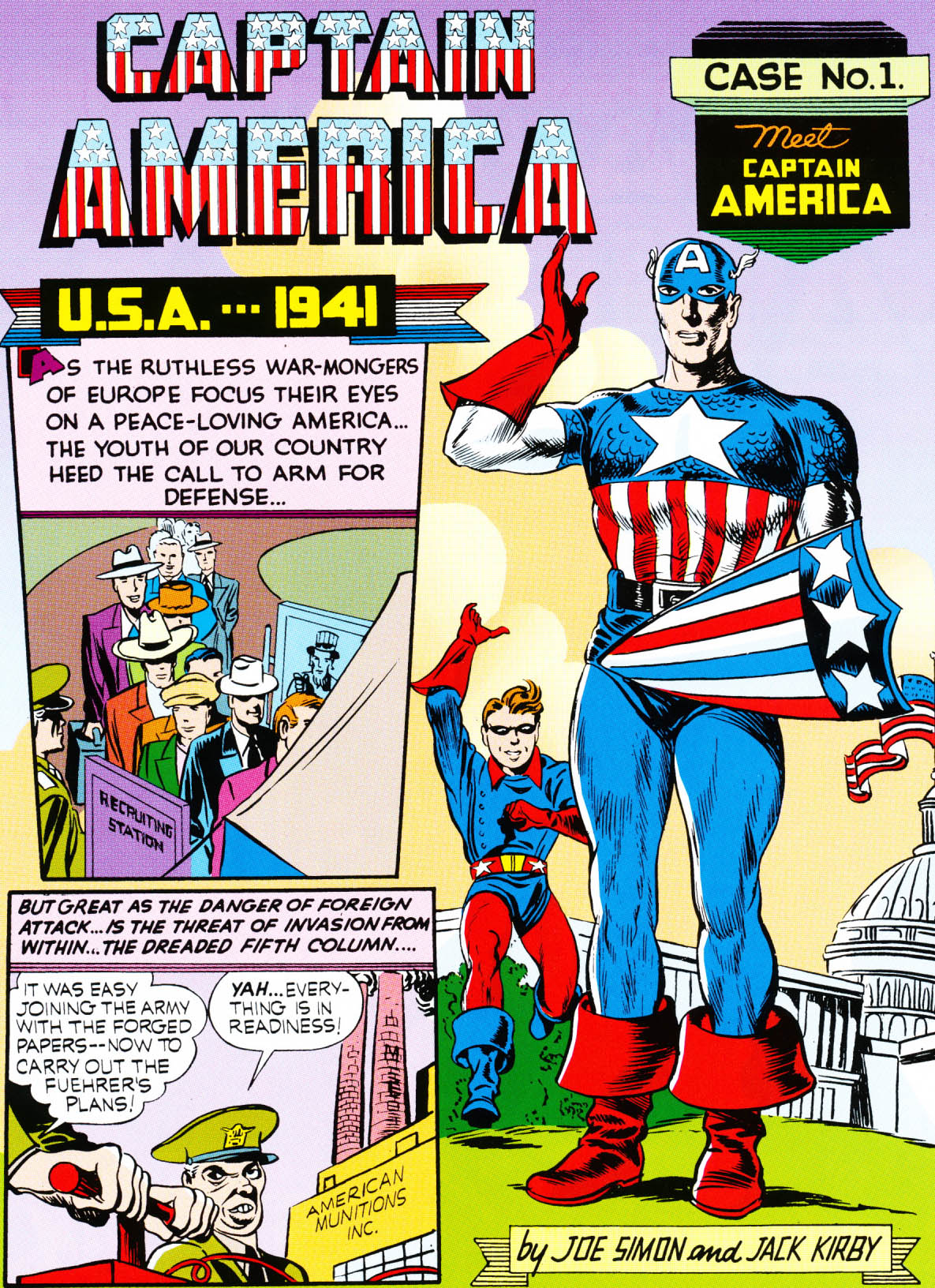 Captain America Comics 1 March 1941 Meet Captain America With