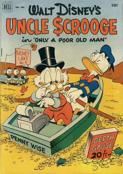 "Four Color Comics #386 (Uncle Scrooge #1) ""Only a Poor Old Man"""