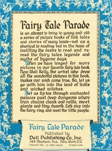 Fairy Tale Parade #1 Inside Front Cover