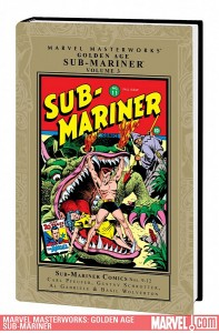 Marvel Masterworks Golden Age Sub-Mariner, Volume 3