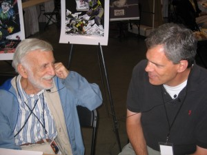 Jerry Robinson and Bill Jourdain at Heroes Con 2007