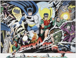 """Guardians of Gotham"" by Dick Sprang (1996)"