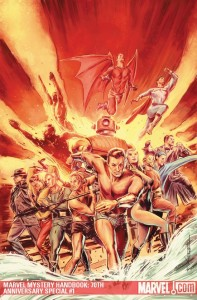 Marvel Mystery Comics Handbook: 70th Anniversary Specia