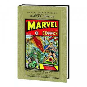 Marvel Masterworks Golden Age Marvel Mystery Comics Vol. 4