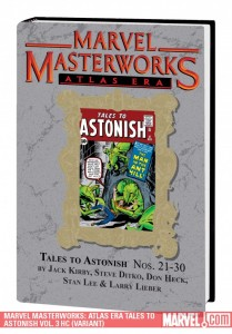 Marvel Masterworks Atlas Era Tales to Astonish, Volume 3