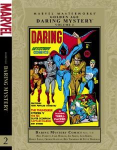 Golden Age Marvel Masterworks Daring Mystery Comics Volume 2