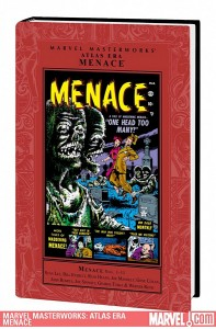 Marvel Masterworks Atlas Era Menace Volume 1