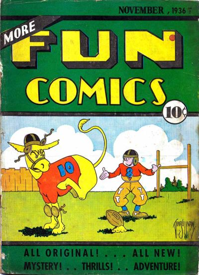 More Fun Comics #15 (November 1936)